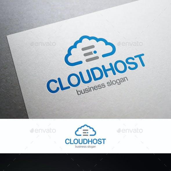 Cloud Server Hosting Logo