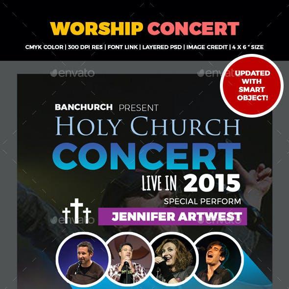 The Worship Church Concert