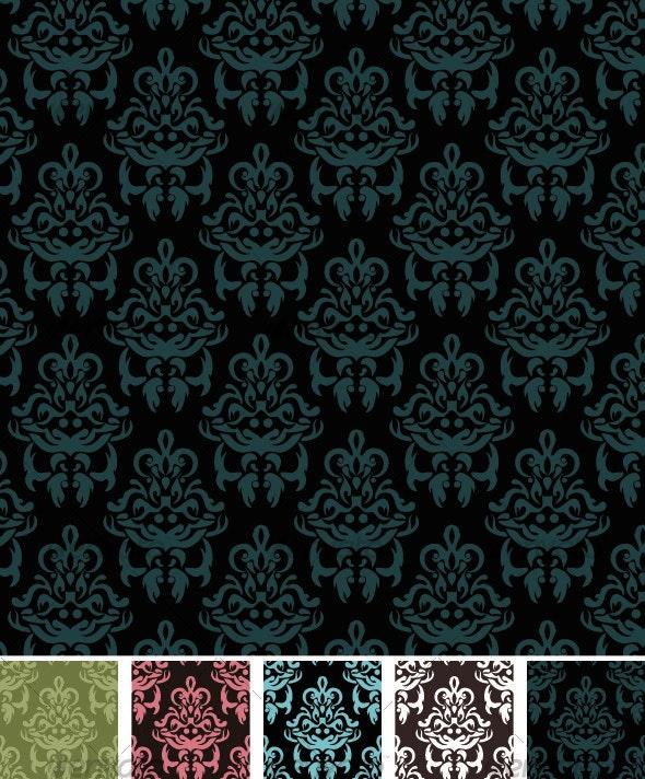 Damask Pattern - Patterns Decorative
