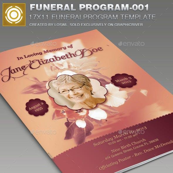 Funeral Program Template-001