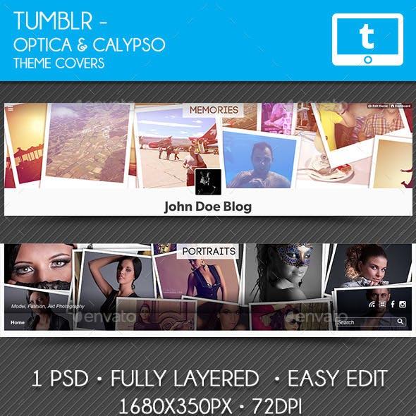 Memories Tumblr Cover - Optica & Calypso Theme
