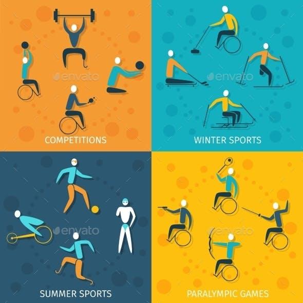Disabled Sports Set