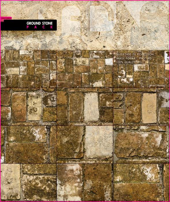 Ground Stone Pack - Stone Textures