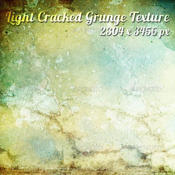 Light Cracked Grunge Texture