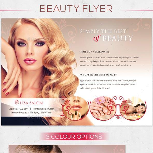 Premium Beauty Flyer