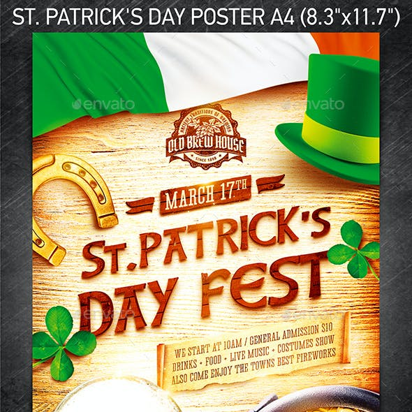 St. Patrick's Day Poster vol.5