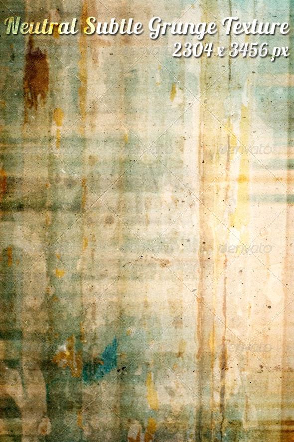 Neutral Subtle Grunge Texture - Industrial / Grunge Textures