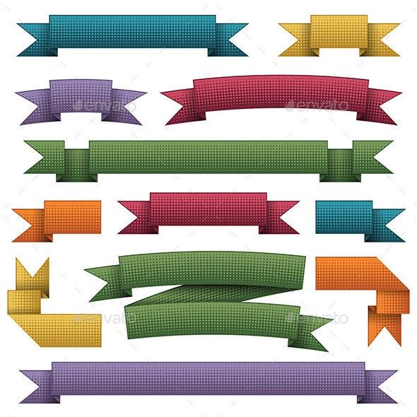 Bright Ribbons - Decorative Symbols Decorative