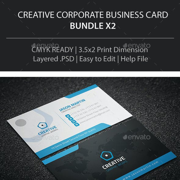 Business Card Bundle X2