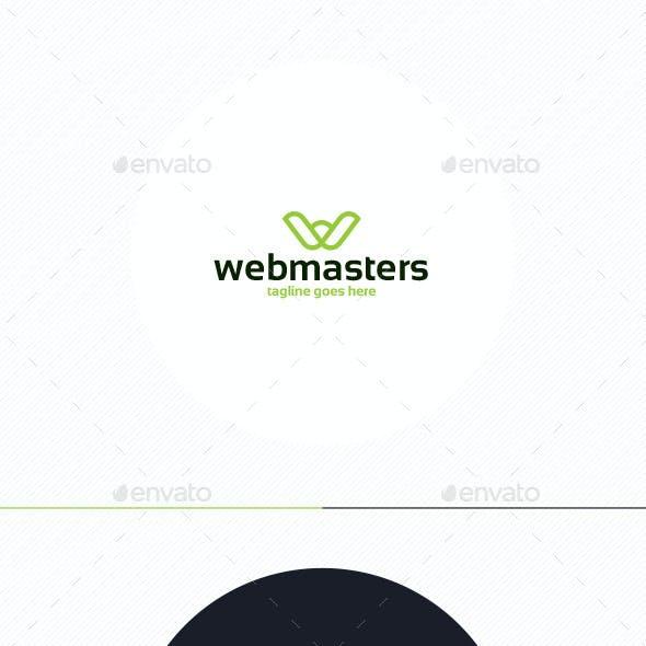Web Masters Logo • Letter W