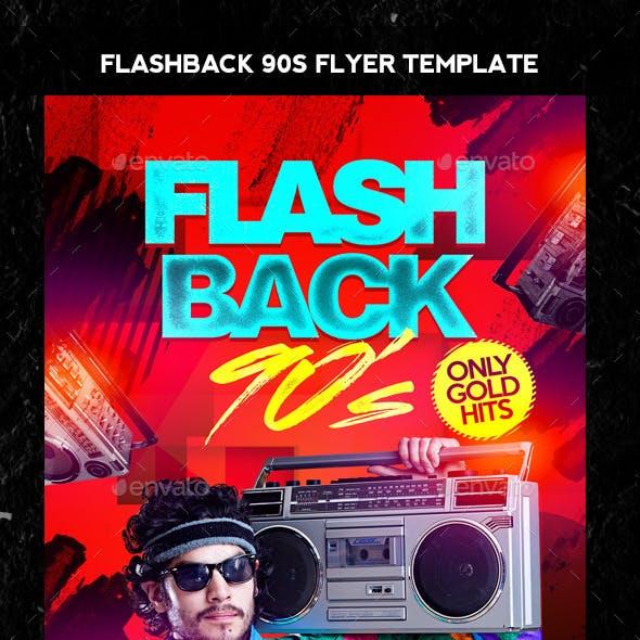 Flash Back 90s Flyer