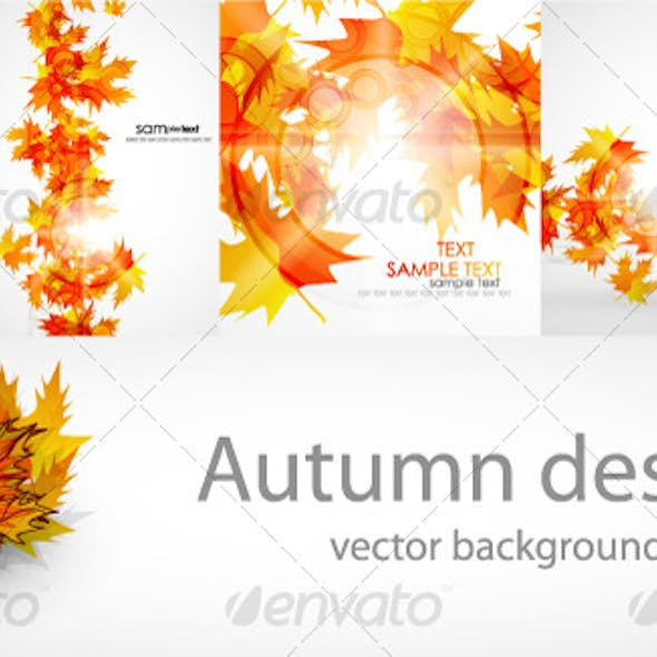 Autumn background pack