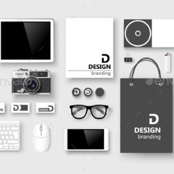 Set of Corporate Identity and Branding