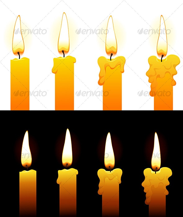 Candles - Man-made Objects Objects