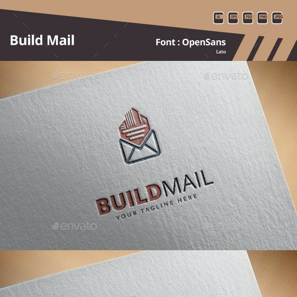 Build Mail Logo Template