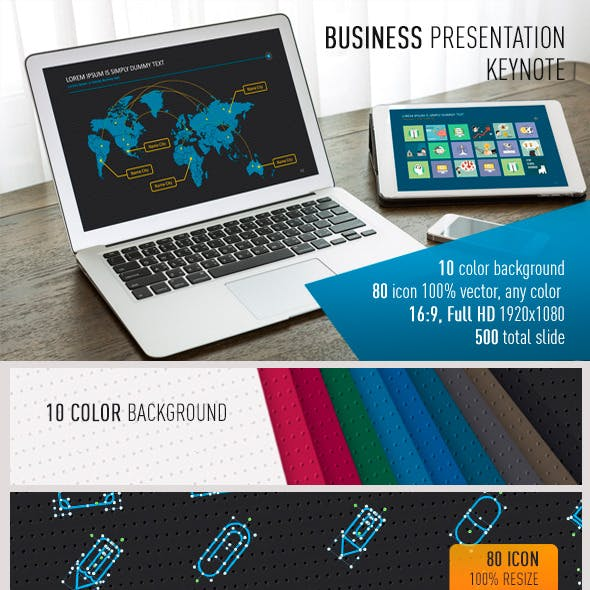 Business presentation Premium