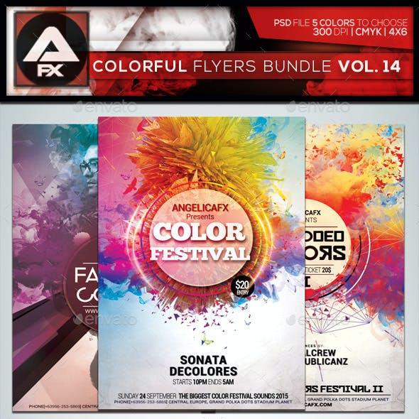 Colorful Flyers Bundle Vol.14