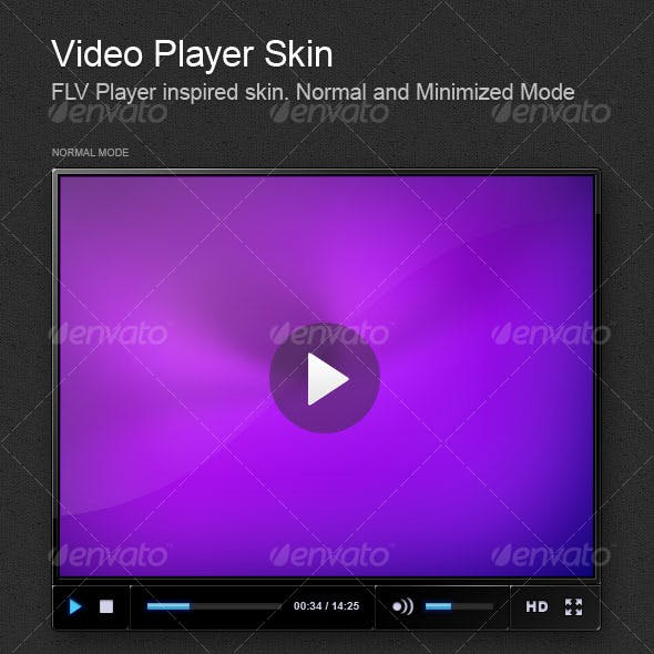 Video Player Skin