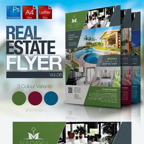Simple Real Estate Flyer Vol.08