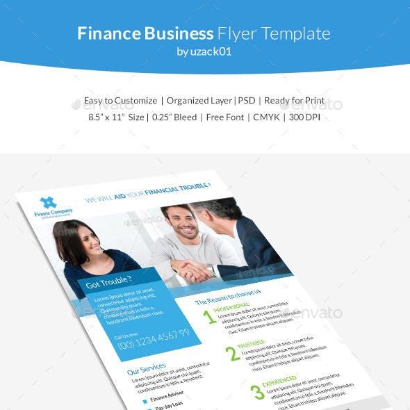 Finance Business Flyer Template