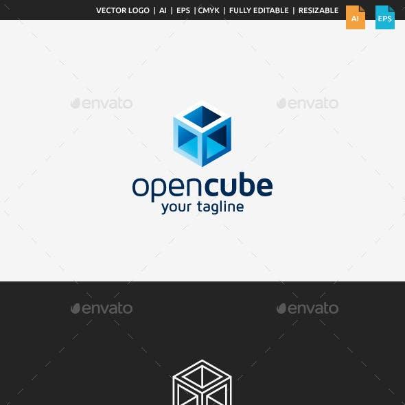 Open Cube Logo