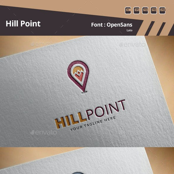Hill Point Logo Template