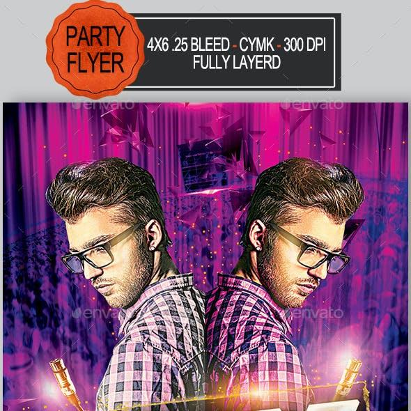 Mix Party Flyer