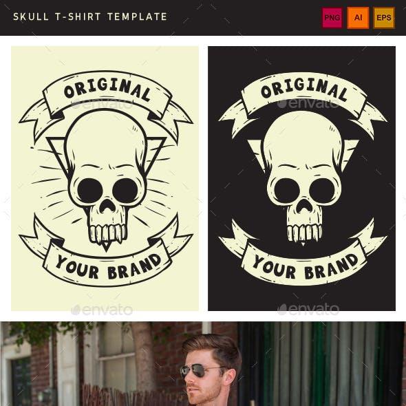 Skull Tshirt Template