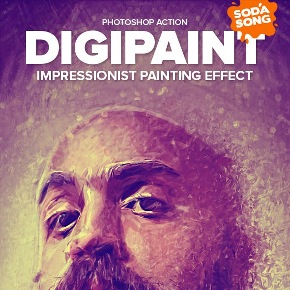 DigiPaint - Impressionist Painting Effect