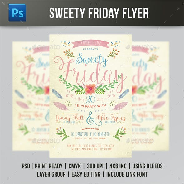 Sweety Friday Flyer