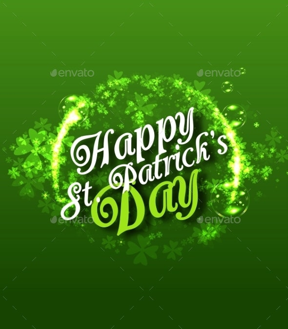 St Patricks Day Background - Miscellaneous Seasons/Holidays