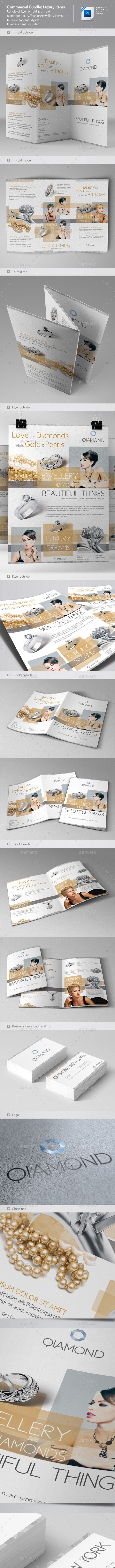Commercial Flyer Bundle 1: Luxury Items - Commerce Flyers