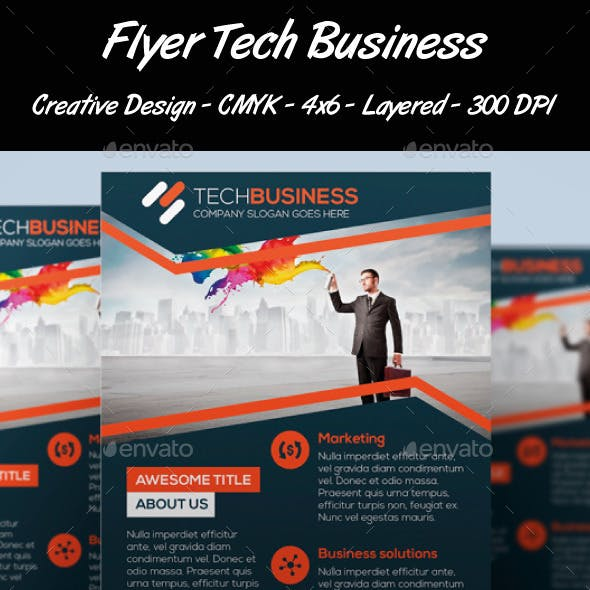 Flyer Tech Business
