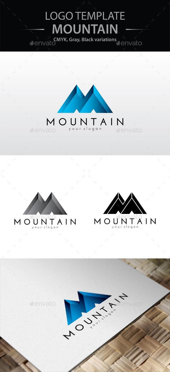 Mountain Logo - Letters Logo Templates