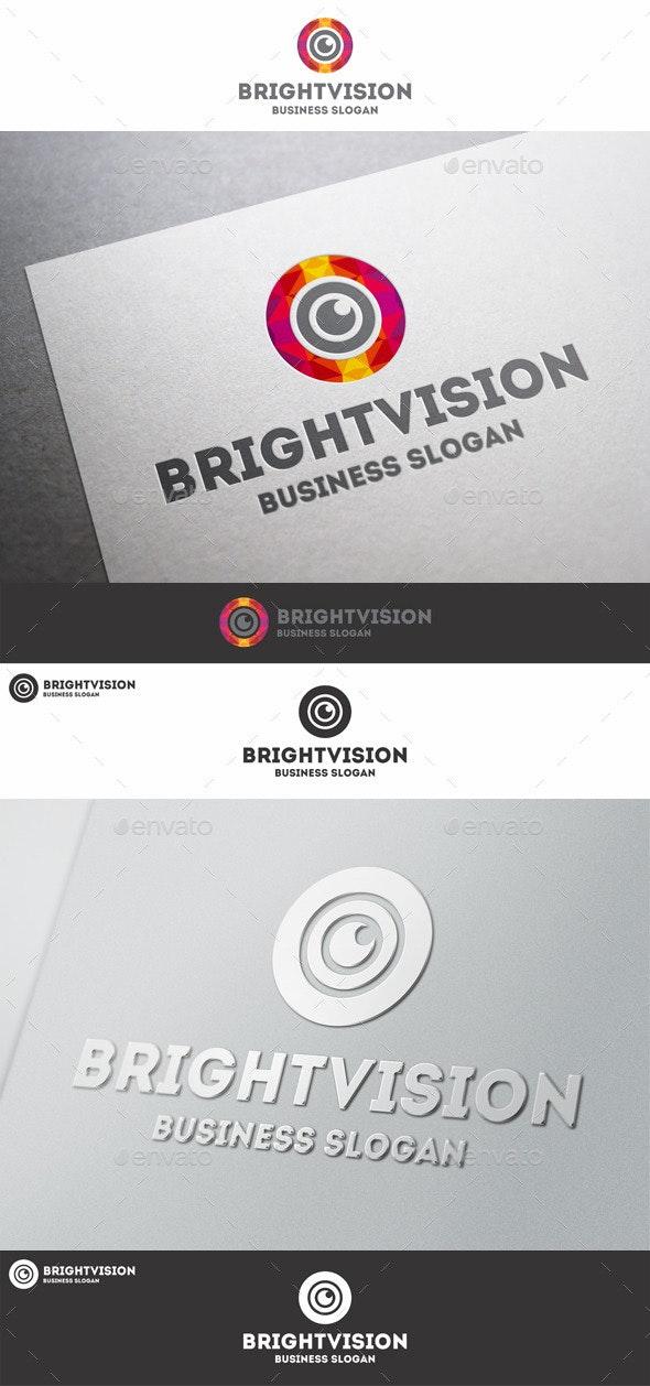 Bright Vision Eye Studio Logo - Symbols Logo Templates