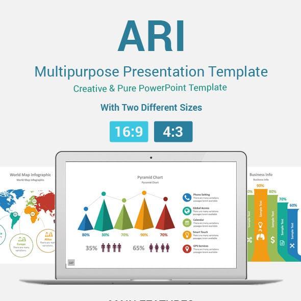 Ari PowerPoint Presentation Template