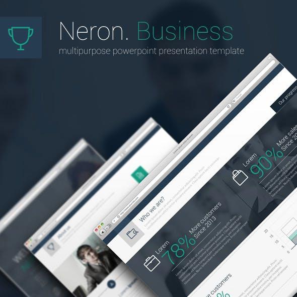 Neron Powerpoint Presenatation Template