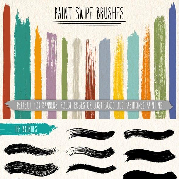 Paint Swipe Brushes