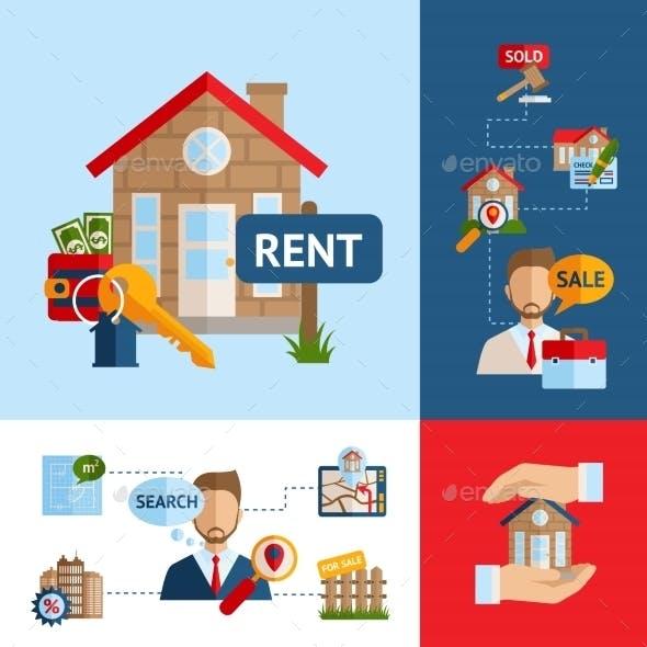 Real Estate Concept Set