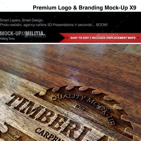 Logo Mock-Up | Branding & Identity Mock-Up