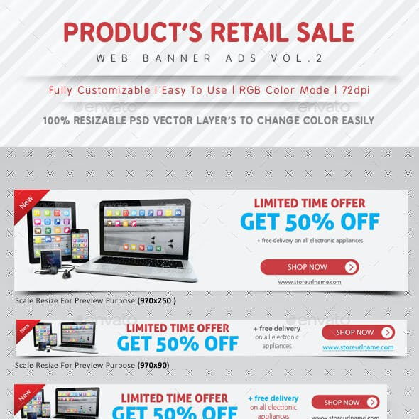 Product Retail Sale Ads Vol.2