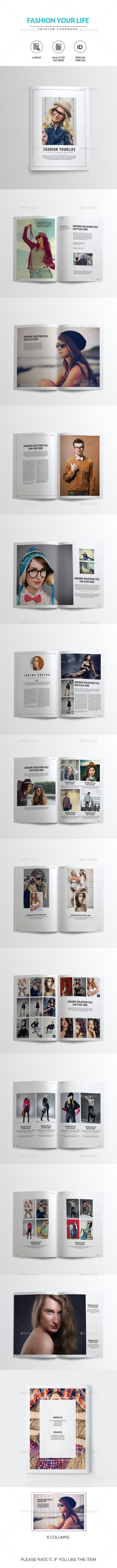 Fashion Lookbook - Catalogs Brochures