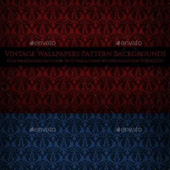 Vintage Wallpapers Pattern Backgrounds