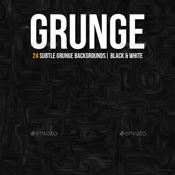 Subtle Texture Backgrounds | Black & White