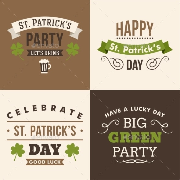 St. Patricks Day Elements - Seasons Nature