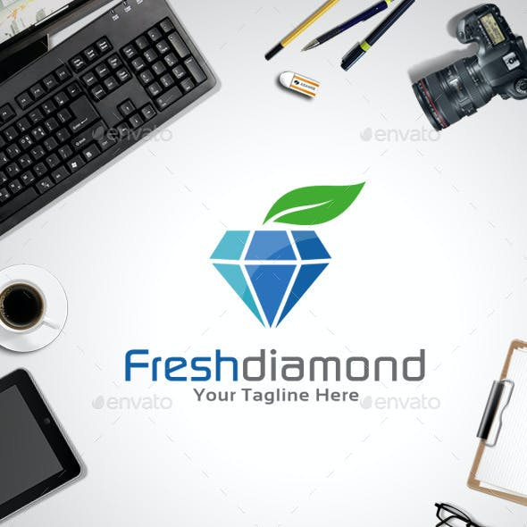 Fresh Diamond Logo Template