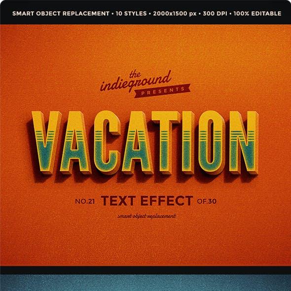 Retro Vintage Text Effects Vol. 3