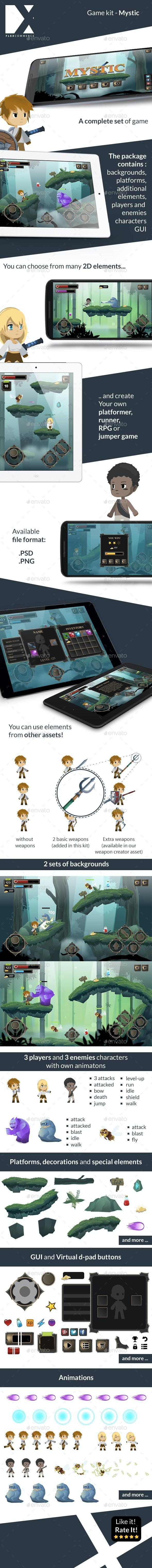 Mystic - Game Kit - Game Kits Game Assets