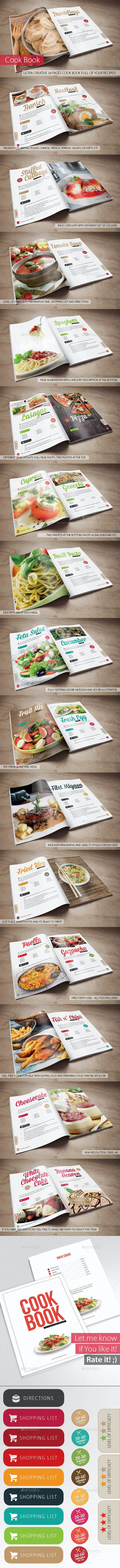 Cook Book - Your Recipes - Brochures Print Templates