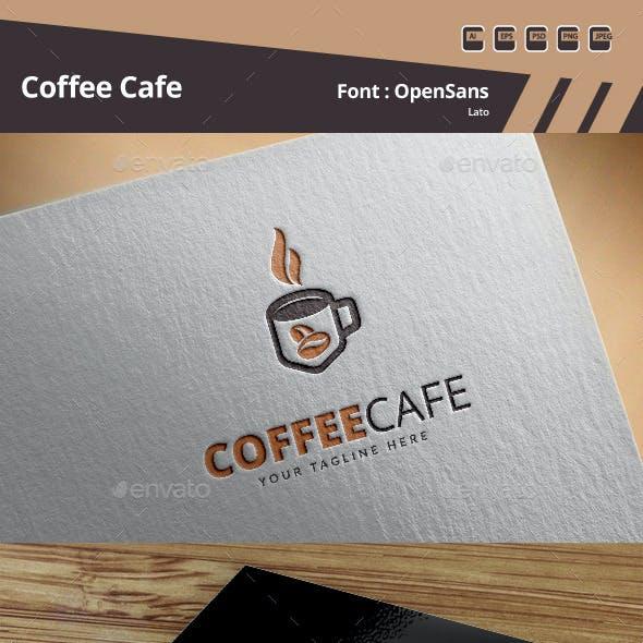 Coffee Cafe Logo Template